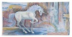 My Unicorn Beach Sheet