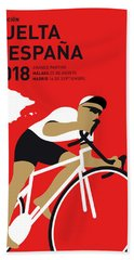 My Vuelta A Espana Minimal Poster 2018 Beach Towel