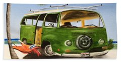 My Vw Van Beach Towel