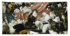 My Wife's Lovers Beach Towel by Carl Kahler