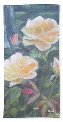 My Yellow Roses Beach Towel