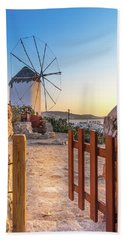 Mykonos, Greece Beach Towel