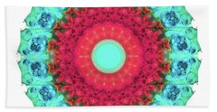 Mystic Circle Mandala - Sharon Cummings  Beach Towel