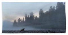 Mystic Elk Beach Sheet