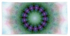 Mystic Light Beach Towel by Shirley Moravec