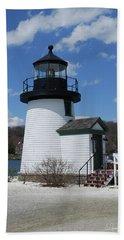 Mystic Lighthouse Beach Sheet