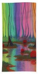 Mystic Marsh 01 Panel A Beach Sheet