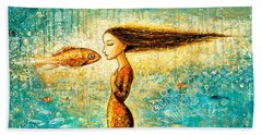 Mystic Mermaid Iv Beach Towel