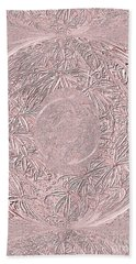 Mystic Pink. Art Beach Towel by Oksana Semenchenko