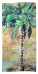 Mystic Palm Beach Sheet by Kristen Abrahamson