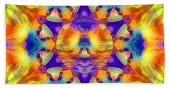 Beach Towel featuring the digital art Mystic Universe Kk 12 by Derek Gedney