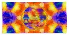 Beach Towel featuring the digital art Mystic Universe 12 Kk2 by Derek Gedney