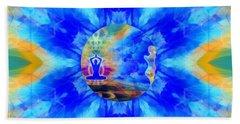 Beach Towel featuring the digital art Mystic Universe 13 Kk2 by Derek Gedney