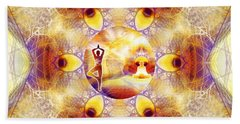 Beach Towel featuring the digital art Mystic Universe 14 Kk2 by Derek Gedney