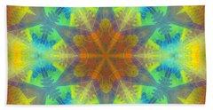 Beach Towel featuring the digital art Mystic Universe 9 Kk2 by Derek Gedney