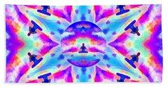 Beach Towel featuring the digital art Mystic Universe Kk 10 by Derek Gedney