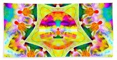 Beach Towel featuring the digital art Mystic Universe Kk 11 by Derek Gedney