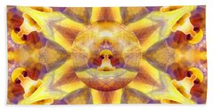 Beach Towel featuring the digital art Mystic Universe Kk 14 by Derek Gedney