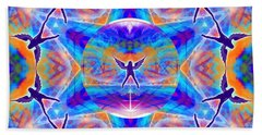 Beach Towel featuring the digital art Mystic Universe Kk 15 by Derek Gedney
