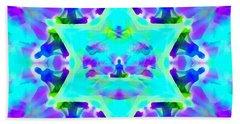 Beach Towel featuring the digital art Mystic Universe Kk 8 by Derek Gedney