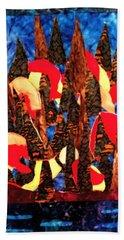 Mystical Forest Beach Towel