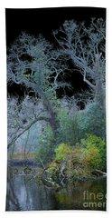 Mystical Wintertree Beach Sheet
