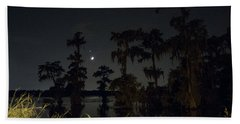 Mystique Of A Cajun Night Beach Towel
