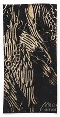Mythical Angels From History Past Beach Towel