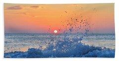 Nags Head Sunrise 7/15/16 Beach Towel
