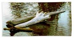 Nailbiting Driftwood Beach Sheet by Sadie Reneau