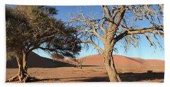 Namibia Sossusvlei 3 Beach Towel