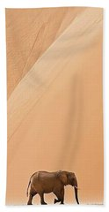 Namibia Beach Towel by Happy Home Artistry
