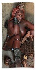 Namibia Tribe 1 Beach Towel