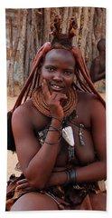 Namibia Tribe 11 Beach Towel