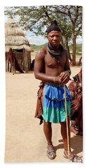 Namibia Tribe 3 - Chief Beach Towel