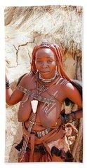 Namibia Tribe 5 Beach Towel