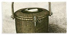 Nantucket Basket Beach Sheet