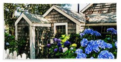 Nantucket Cottage No.1 Beach Towel