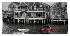 Nantucket In Bw Series 6139 Beach Towel