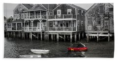 Nantucket In Bw Series 6139 Beach Towel