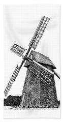 Nantucket Windmill Number One Beach Towel