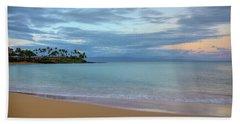 Napili Bay Sunrise Beach Towel