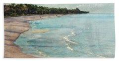 Naples Beach Beach Towel