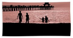 Naples Florida Sunset Beach Towel