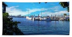 Naples Harbor Series 4054 Beach Towel