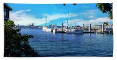 Naples Harbor Series 4054 Beach Towel