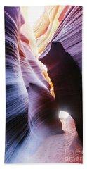 Narrow Passage, Lower Antelope Canyon, Usa Beach Towel