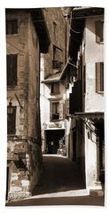 Narrow Streets Of Asolo Beach Towel