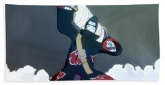 Naruto Shippuden Ultimate Ninja Storm 4 Beach Towel