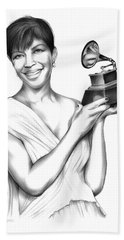 Natalie Cole Beach Towel
